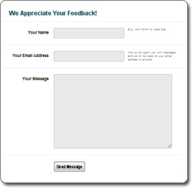 Contact Form | PHP Javascript Form Validation